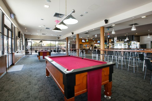 Bar and Billiards at Playford Tavern