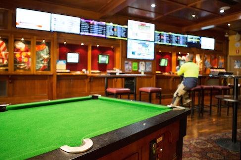 Billiards at Findon Hotel