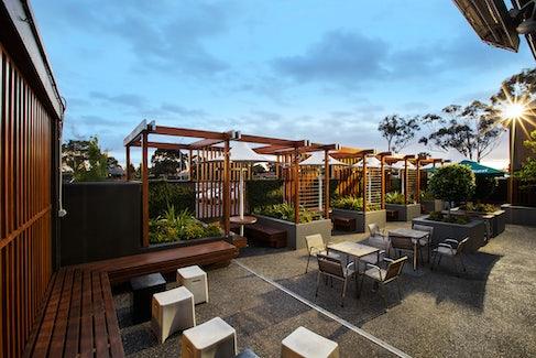 Beer Garden at Keysborough Hotel