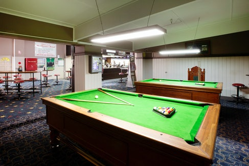 Billiards at the Charles Hotel