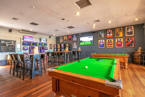 Bar and Billiards at Wanneroo Tavern