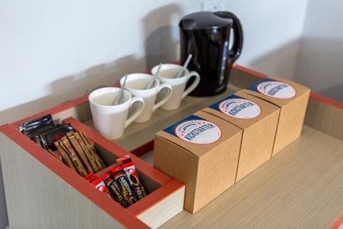 Tea/Coffee Making Facilities at Nightcap at Ashley Hotel