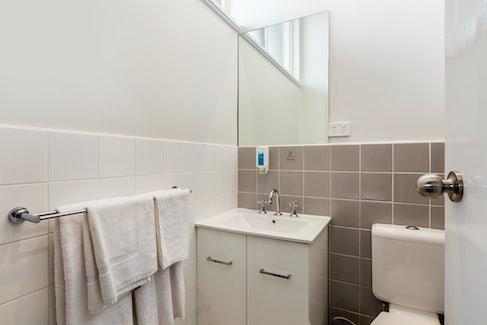 Bathroom at Nightcap at Ashley Hotel