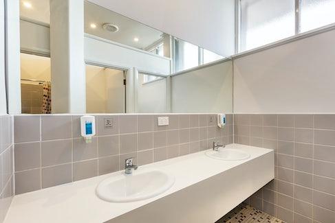 Shared Bathroom Facilities at Nightcap at Ashley Hotel