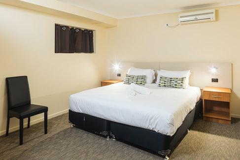 Bedroom in Three Bedroom Apartment at Nightcap at Balaclava Hotel