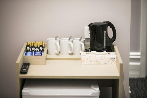 Tea/Coffee Making Facilities at Nightcap at Belgian Beer Cafe