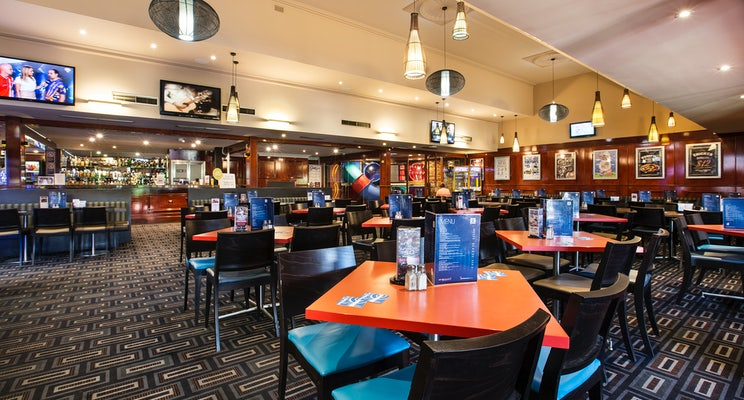 St Clair Accommodation functions room Blue Cattle Dog Hotel