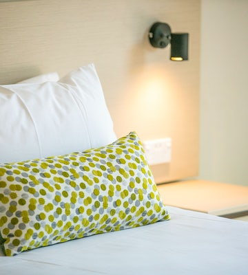 st clair accommodation bedroom feature nightcap at blue cattle dog hotel