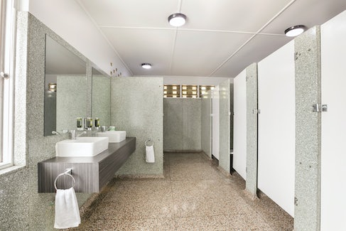 Shared Bathroom Facilities at Nightcap at Camp Hill Hotel
