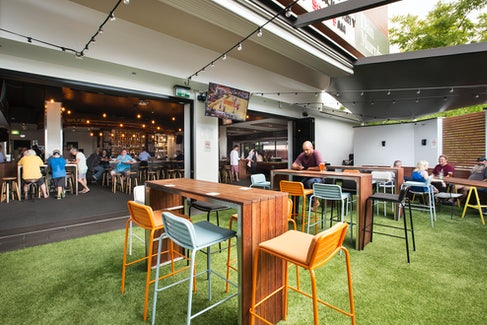 Caringbah Accommodation bistro outdoors Caringbah Hotel Nightcap