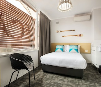 Caringbah Accommodation studio twin queen Caringbah Hotel Nightcap