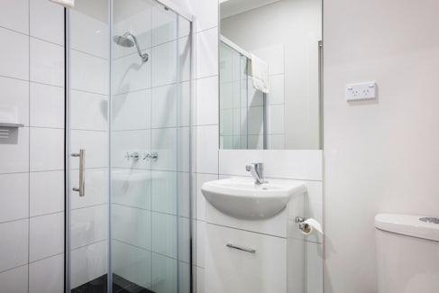 Ensuite Bathroom at Nightcap at Caringbah Hotel