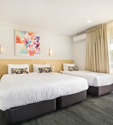 coolaroo accommodation studio king and single coolaroo hotel nightcap