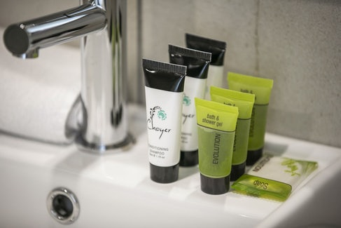 Complimentary Toiletries at Nightcap at Excelsior Hotel