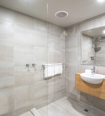 Bathroom in One Bedroom Apartment at Nightcap at Excelsior Hotel