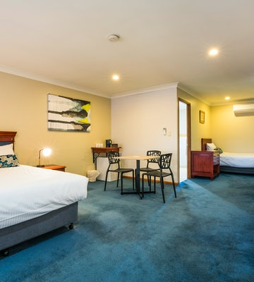 Studio Queen and Single (Accessible) at Nightcap at Federal Hotel Toowoomba