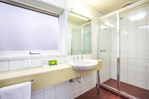 Ensuite Bathroom at Nightcap at Ferntree Gully Hotel Motel