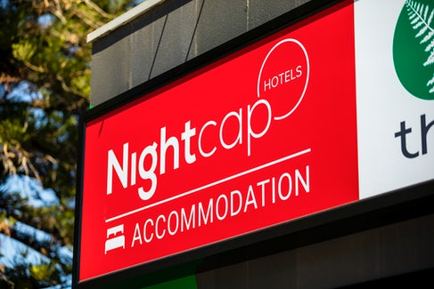 woodville north accommodation hotel sign nightcap at finsbury hotel
