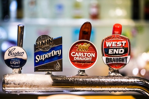 woodville north accommodation bar tap nightcap at finsbury hotel