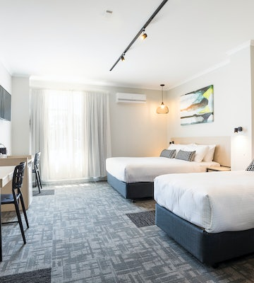 woodville north accommodation studio family beds nightcap at finsbury hotel