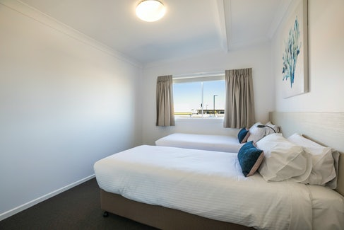 Bedroom in Two Bedroom Apartment at Nightcap at Golden Beach Tavern