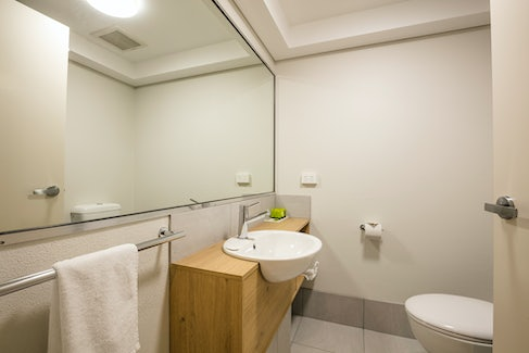 Ensuite Bathroom at Nightcap at Kawana Waters Hotel