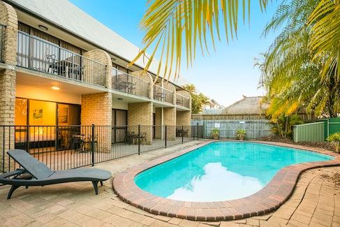 Outdoor Swimming Pool at Nightcap at Kawana Waters Hotel