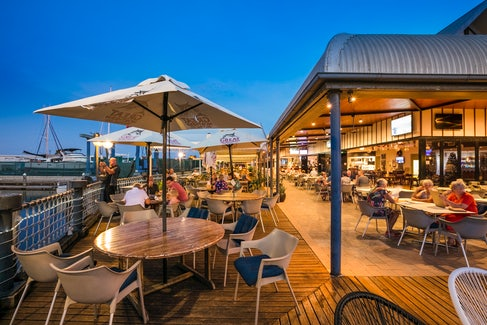 Outdoor Seating at Nightcap at Kawana Waters Hotel