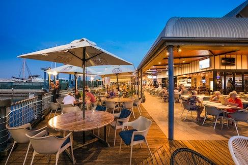 Outdoor Seating at Nightcap at Kawana Waters Hotel