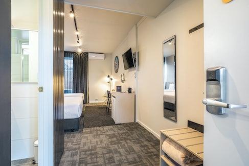 Room Entrance at Nightcap at Keysborough Hotel
