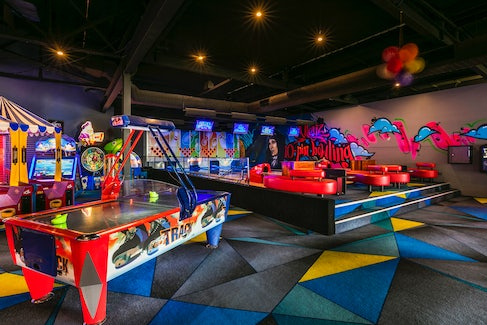 Bowling Alley and Game Room at Nightcap at Matthew Flinders Hotel