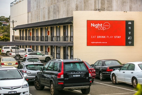 On-Site Parking at Nightcap at Matthew Flinders Hotel