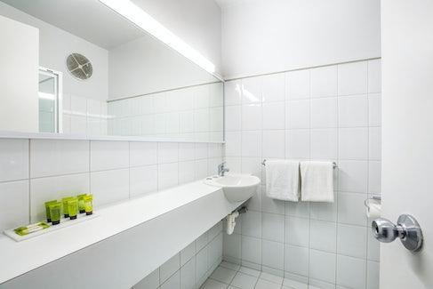 Ensuite Bathroom at Nightcap at Matthew Flinders Hotel