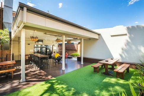 Nightcap restaurant regents park outdoor area