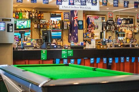 Nightcap restaurant regents park bistro pool table