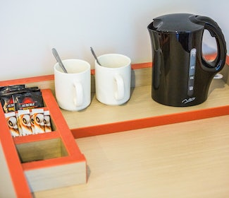 Tea and Coffee Making Facilities at Nightcap at Rose and Crown Hotel