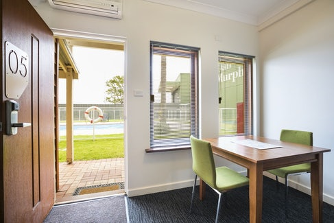 Dining Area in One Bedroom Apartment at Nightcap at the Ship Inn