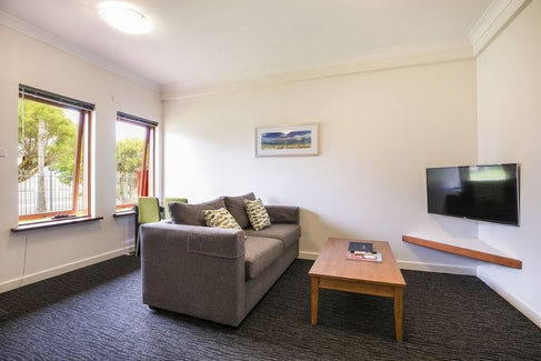 Living Area in One Bedroom Apartment at Nightcap at the Ship Inn