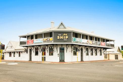 Hotel Exterior at Nightcap at the Ship Inn