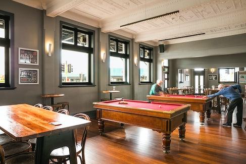 Bar and Billiards at the Ship Inn