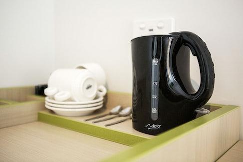 Tea and Coffee Making Facilities at Nightcap at St Albans Hotel