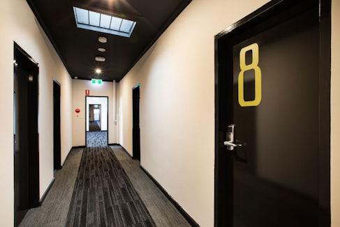 Interior Hallway at Nightcap at St Albans Hotel