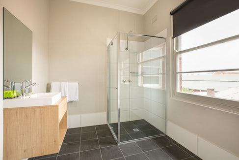 Ensuite Bathroom in Studio Queen at Nightcap at the Charles Hotel