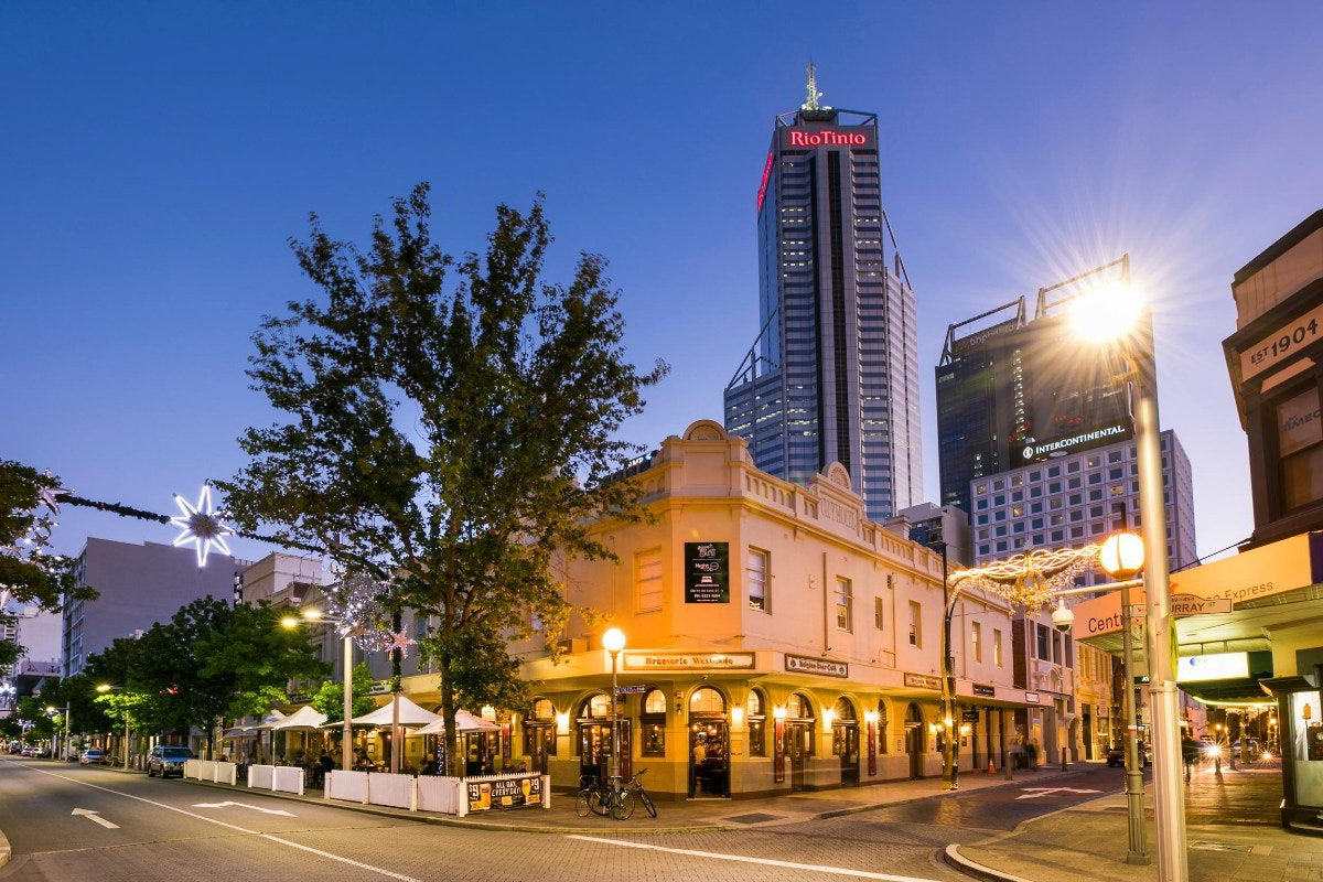 Where to Get Lost in the City of Perth