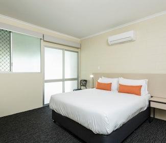 Bedroom 1 in Three Bedroom Apartment at Nightcap at Edge Hill Tavern