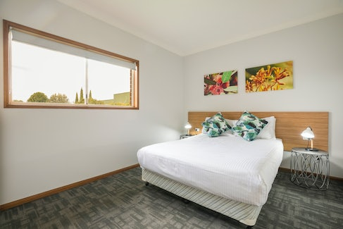 Bedroom in Three Bedroom Apartment at Nightcap at Federal Hotel