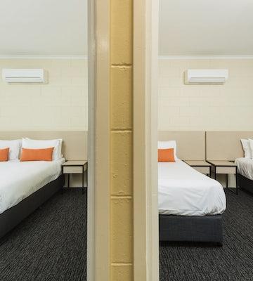 Bedroom in Three Bedroom Apartment at Nightcap at Edge Hill Tavern Manunda