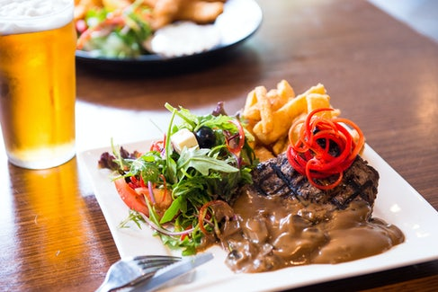 Steak and Beer at the Bistro at Nightcap at Balaclava Hotel