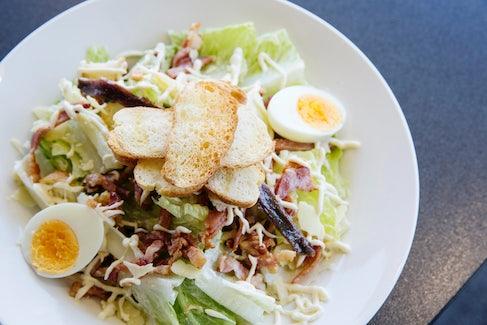 Caesar Salad at Golden Beach Tavern