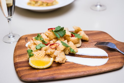 Calamari at Seaford Hotel